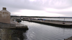 The Beautiful Burghead Harbour.