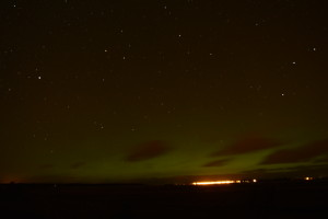 Aurora over Findhorn