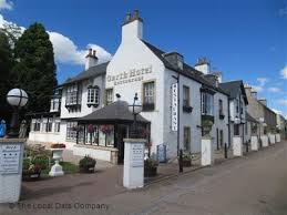 The beautiful Garth Hotel in Grantown on Spey