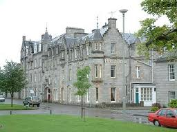 The magnificent Grant Arms Hotel, Grantown on Spey