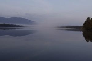 First light at Loch Garten