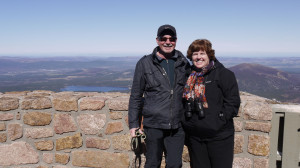 Daryl and Eleanor at Ptarmigan viewpoint