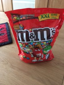 Peanut Butter M&Ms, heaven in a sweet :-)
