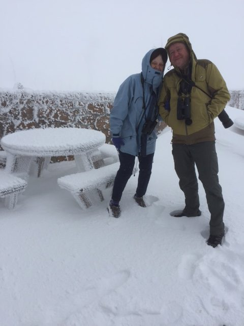 Janet and Bill on Cairngorm